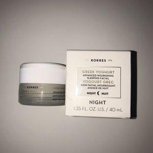 Korres Makeup - Korres Greek Yogurt Sleeping Facial
